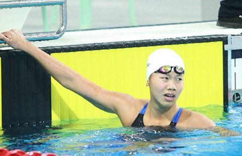 Phá sâu kỷ lục 400 m hỗn hợp cá nhân nhưng Ánh Viên  vẫn bị loại