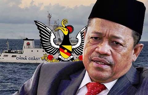 Malaysia tố tàu Trung Quốc xâm nhập