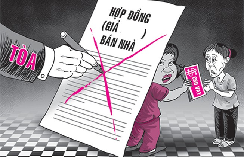Tòa 'phá' hợp đồng gian dối