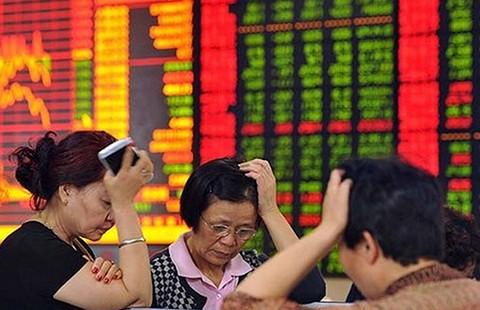 Chứng khoán Trung Quốc ngày thứ Ba 'kinh dị'