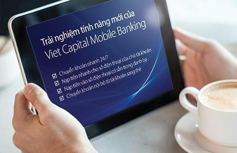 Nhiều tiện ích cho khách hàng từ Mobile Banking