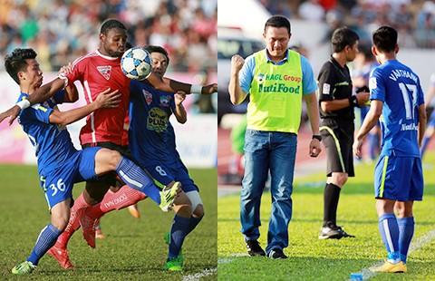 Vòng 23 V-League 2015: HA Gia Lai thắng nghẹt thở