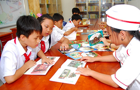 Chủ tịch nước Trương Tấn Sang: Tạo điều kiện tốt nhất cho học sinh học tập
