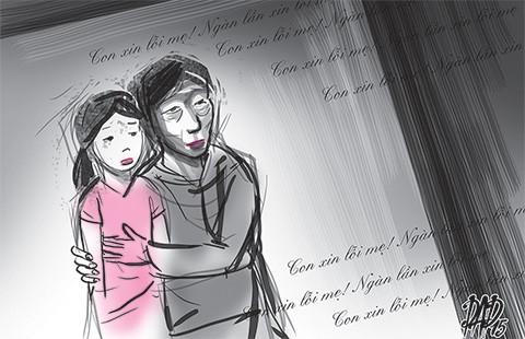 Lá thư con dâu xin lỗi mẹ chồng từ trong tù