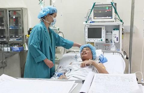 Chuyển tạng từ Nam ra Bắc ghép cho hai bệnh nhân