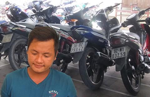 Lên Facebook rao bán xe trộm