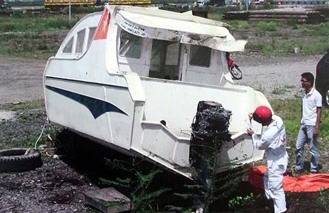 Tạm đình chỉ điều tra vụ chìm canô ở biển Cần Giờ