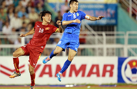 Việt Nam cùng bảng với UAE, Úc và Jordan