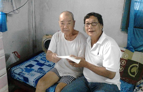 Tấm lòng với cựu danh thủ Trần Văn Nhung