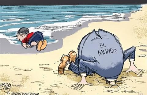 Khủng hoảng nhập cư châu Âu: Biểu tình và khẩu chiến