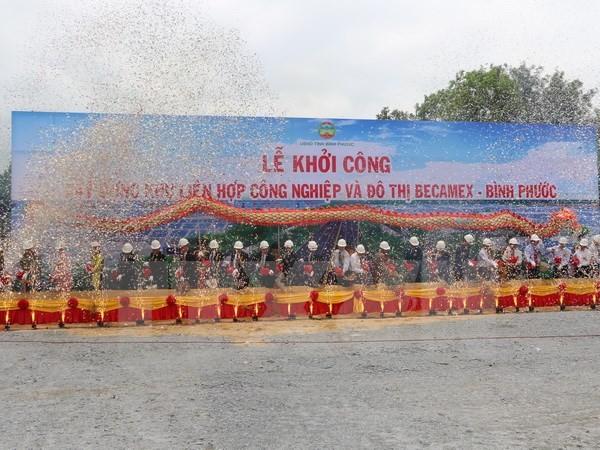 Khởi công khu công nghiệp-đô thị lớn nhất Bình Phước