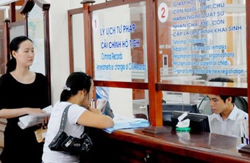 Từ 18-9, Sở Tư pháp TP.HCM cấp phiếu lý lịch tư pháp qua bưu điện và mạng trực tuyến