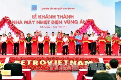 Thủ tướng khánh thành Nhà máy nhiệt điện Vũng Áng 1