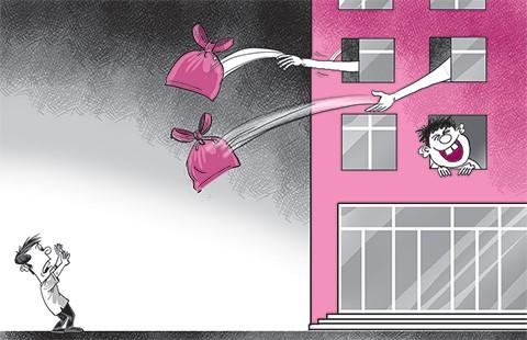 Đưa lạc hậu vào chung cư hiện đại