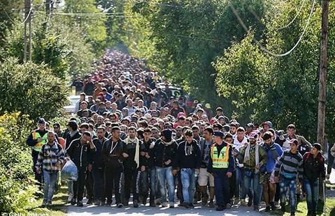 Châu Âu phân chia 120.000 người di cư