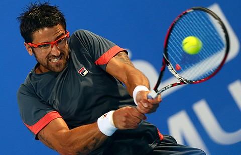 Tay vợt từng hạng 8 thế giới dự giải quần vợt Việt Nam Challenger