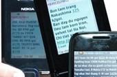 Coi chừng bị lừa từ tin nhắn điện thoại