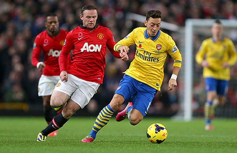 Arsenal – MU: Van Gaal từ hòa tới thắng