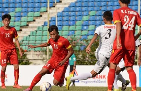 Vòng loại U-19 châu Á, Myanmar - Việt Nam