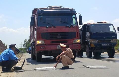 CSGT Đà Nẵng: Không có bảo kê xe quá tải