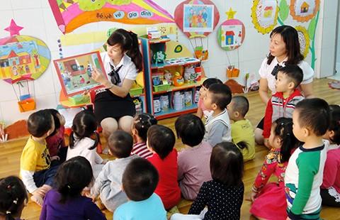 Giáo viên còn thiếu kinh nghiệm giữ trẻ 6-18 tháng tuổi
