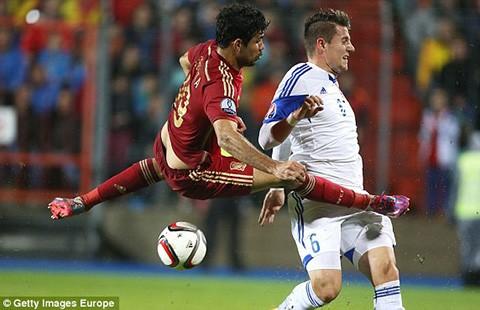 Vòng loại Euro 2016: Thêm Tây Ban Nha và Thụy Sĩ đoạt vé