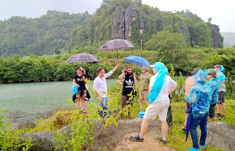 Hỗ trợ tích cực cho đoàn làm phim Kinh Kong tại Việt Nam