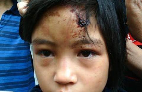 Giải cứu bé gái bị nhốt trong chùa