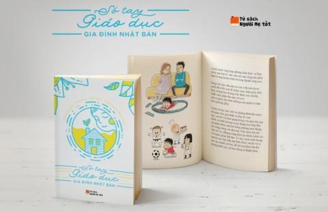 Tặng 5.000 quyển Sổ tay giáo dục gia đình Nhật Bản