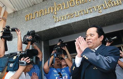 Bóng đá Thái Lan đang rúng động