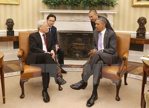 Việt Nam lạc quan về quan hệ tốt đẹp với Hoa Kỳ