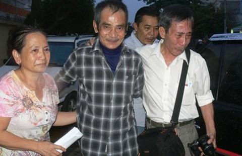 Ông Huỳnh Văn Nén được tại ngoại
