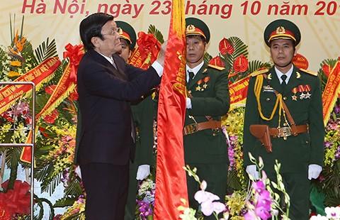 Chủ tịch nước dự ngày truyền thống lực lượng Tình báo quốc phòng