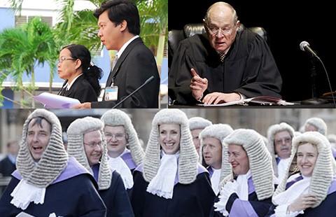 Thẩm phán sẽ mặc áo thụng đen khi xét xử