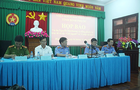Vụ thảm sát Bình Phước: Ba bị can đối diện án tử hình