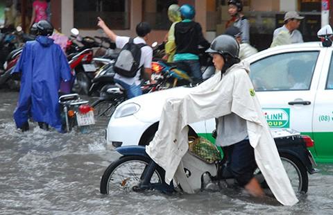 TP.HCM: Năm năm nữa hết kẹt xe, ngập nước?