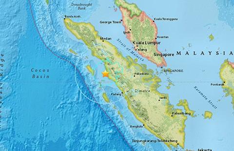 Động đất tại Indonesia, không có cảnh báo sóng thần