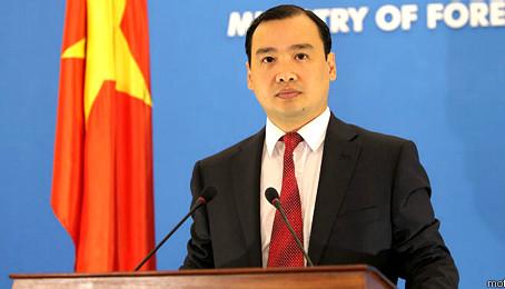 Việt Nam phản bác phát biểu của chủ tịch Trung Quốc về biển Đông