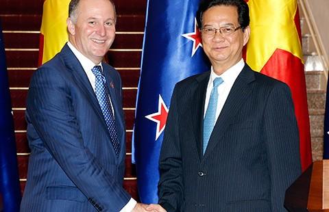 Việt Nam-New Zealand quan ngại về diễn biến trên biển Đông