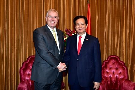 Hoàng tử Anh hỗ trợ khởi sự doanh nghiệp Việt Nam