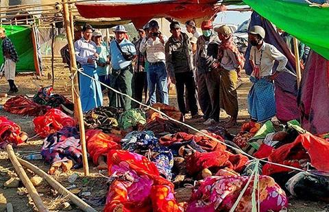 97 người chết trong hầm ngọc thạch