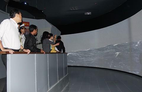 Trang bị tổ hợp mô phỏng chiến hạm phục vụ huấn luyện hải quân