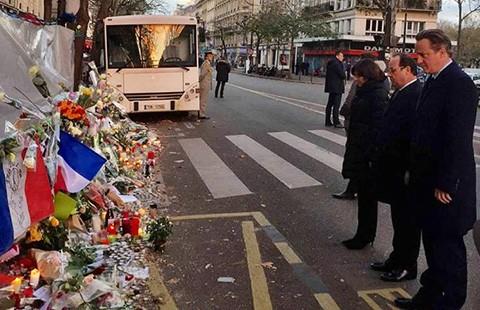 Pháp-Anh cam kết đánh IS