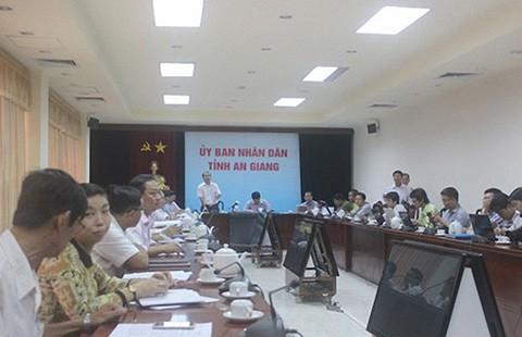 An Giang: Xin lỗi cô giáo chê chủ tịch tỉnh