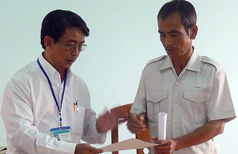 'Nước mắt công dân' của ông Huỳnh Văn Nén