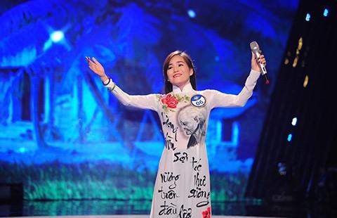 Dương Thị Tuyết trở thành quán quân 'Tiếng hát truyền hình 2015'