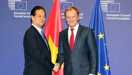 Ký kết thúc đàm phán FTA Việt Nam - EU