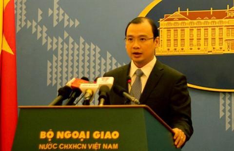 Yêu cầu Đài Loan chấm dứt vi phạm chủ quyền Việt Nam