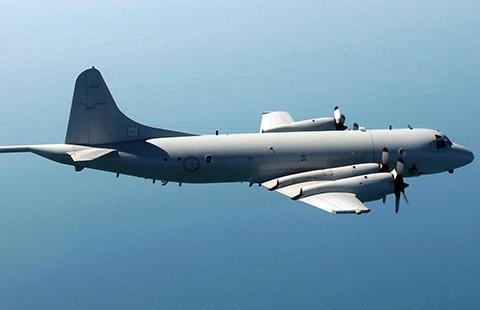 Máy bay Úc tuần tra trên biển Đông