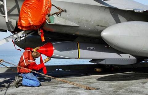 Lần đầu tiên Pháp bắn tên lửa hành trình ở Iraq